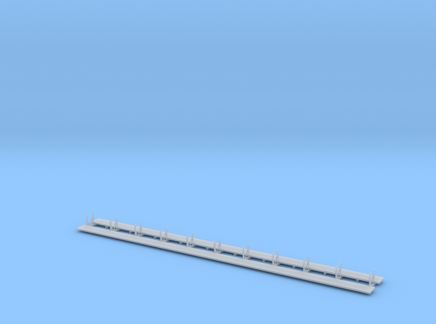 Timber Trestle N Scale - walkways only - SP common in Smooth Fine Detail Plastic