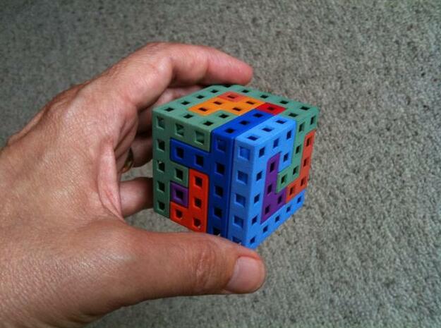 Switch Cube 5 cm in White Natural Versatile Plastic