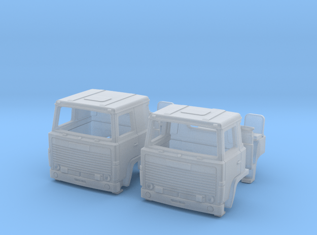 2 Replacement Cabs For Scania 140 N scale
