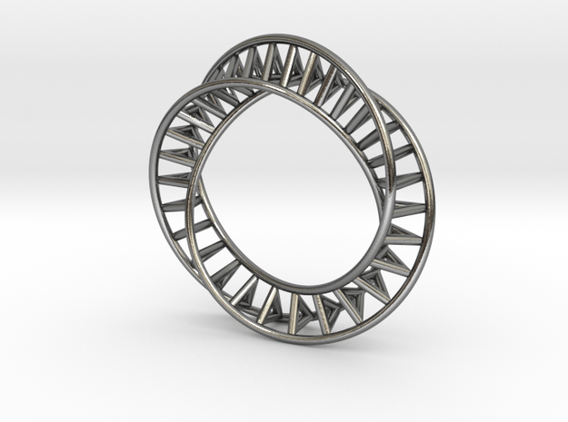 Bruc Ring in Polished Silver