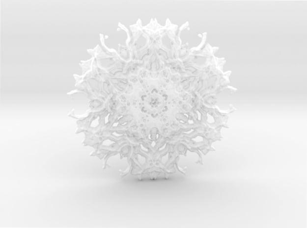 Experimental rough pendant in Smoothest Fine Detail Plastic