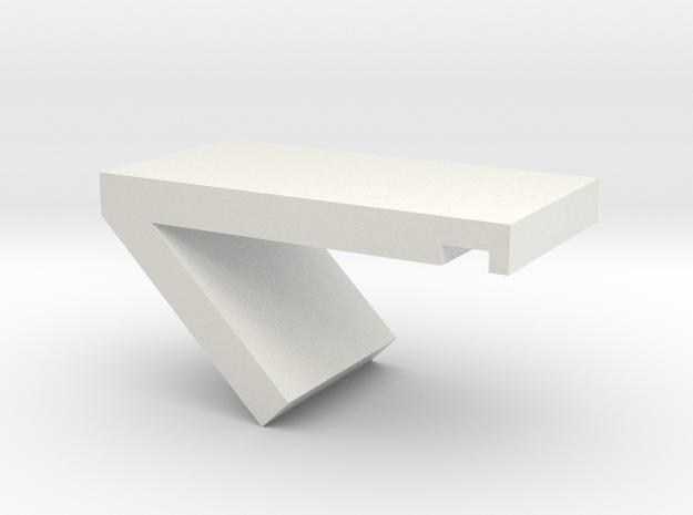 phone stand in White Natural Versatile Plastic: Medium