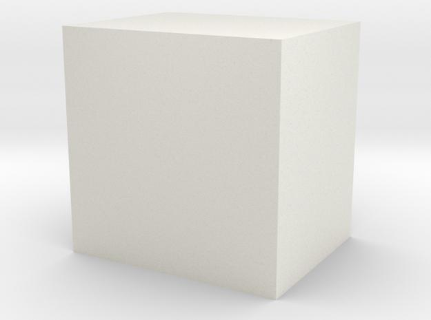 Pen barrel in White Natural Versatile Plastic: Medium