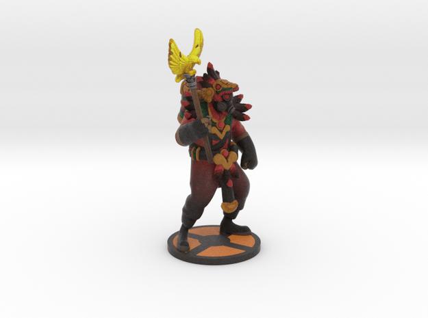 Aztec pyro in Full Color Sandstone