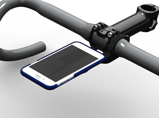 iPhone 6/6S Wahoo Mount Case in Blue Processed Versatile Plastic