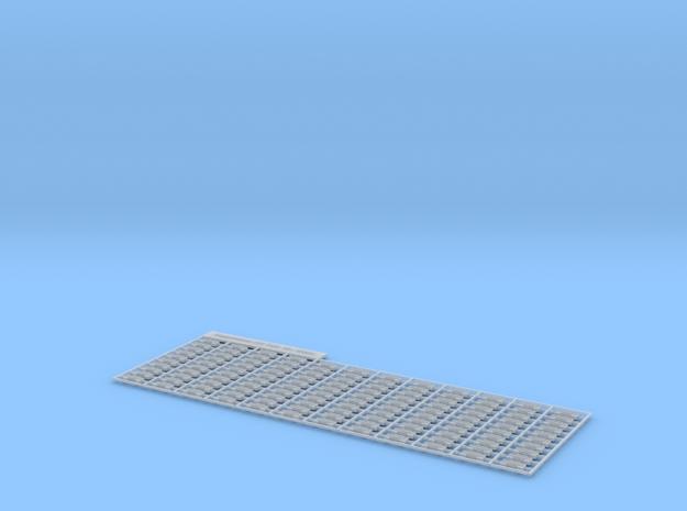 120 Kettenglieder   in Smooth Fine Detail Plastic
