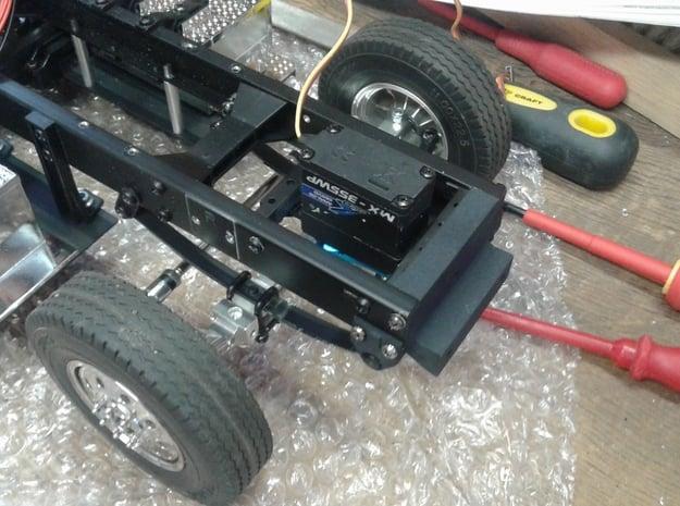 Tamiya Truck USA conversion kit front suspension in White Natural Versatile Plastic