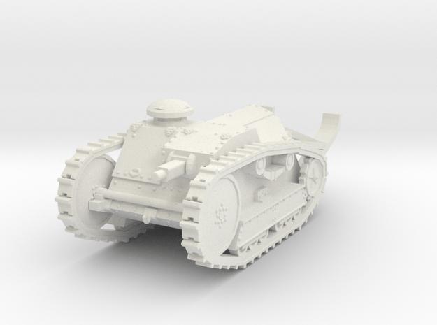1/72 Ford 3-ton M1918 tank in White Natural Versatile Plastic
