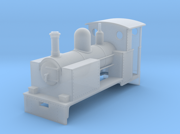 RAR Ajax class loco in Smooth Fine Detail Plastic: 1:43.5