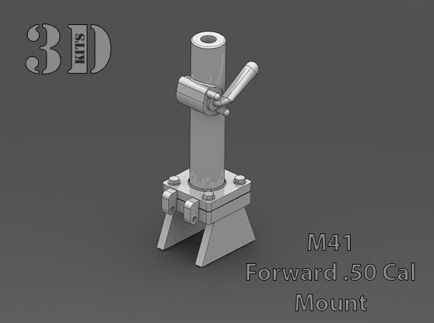 M41 50 Cal Mount in Smoothest Fine Detail Plastic