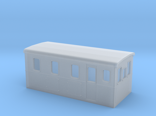HOm Electric Boxcab Locomotive (Isabelle2) in Smoothest Fine Detail Plastic