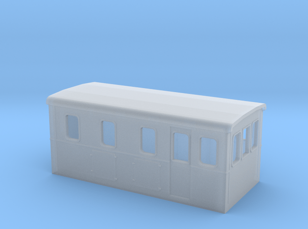 HOm Electric Boxcab Locomotive (Isabelle3) in Smoothest Fine Detail Plastic