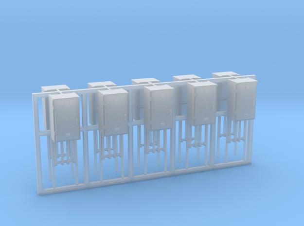 SJ Signalverteiler 1Türig linksanschlag 10erSet -  in Smooth Fine Detail Plastic