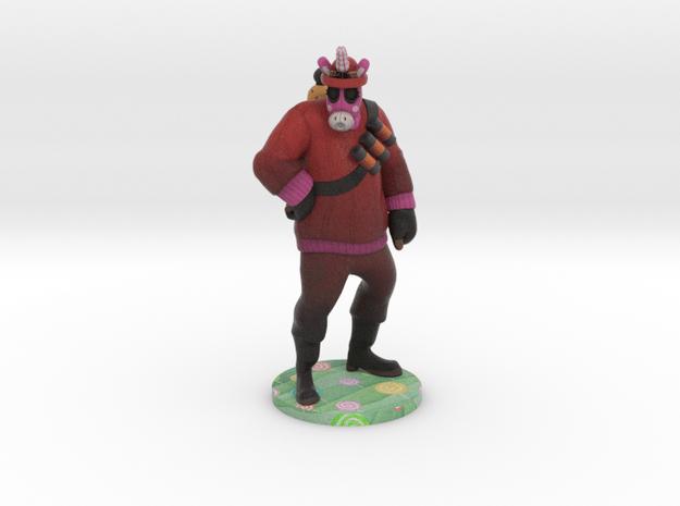 Pyro (Custom request) in Full Color Sandstone