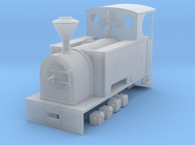 RAR Charlton class loco  in Smooth Fine Detail Plastic: 1:43.5