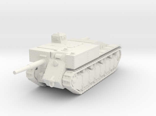 1/72 ACL 135 SPG in White Natural Versatile Plastic