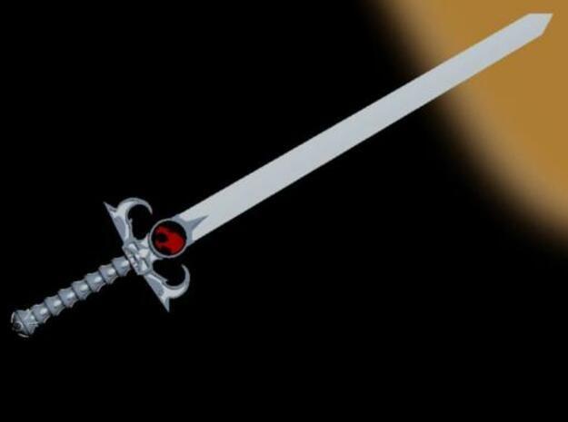 Sword of Omens in White Natural Versatile Plastic