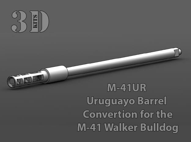 M-41UR Uruguayo Barrel Upgrade in Smoothest Fine Detail Plastic