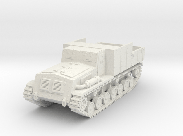 1/72 Type 4 Chi-So armored tractor in White Natural Versatile Plastic