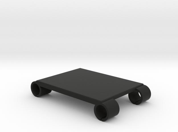 Steadicam M-1 Monitor Rails Accessory Plate - 75mm in Black Natural Versatile Plastic
