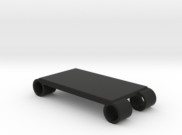 Steadicam M-1 Monitor Rails Accessory Plate - 55mm in Black Natural Versatile Plastic