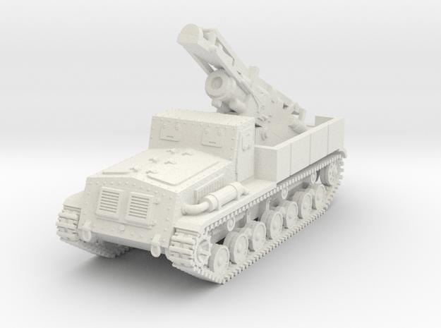 1/72 Type 4 Ha-To heavy mortar in White Natural Versatile Plastic