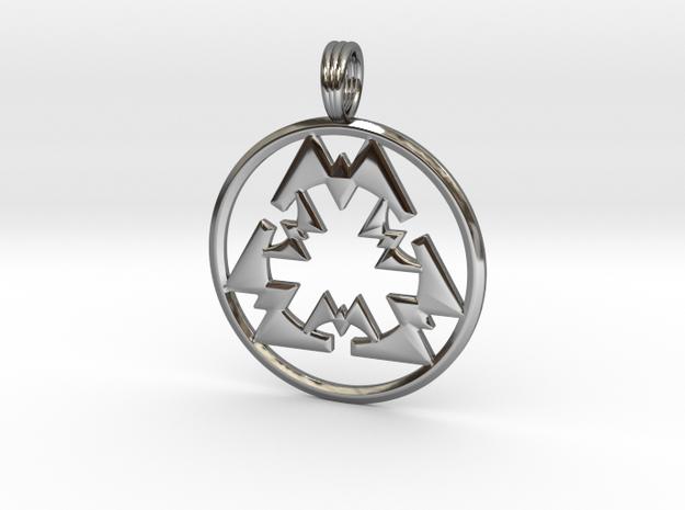PARTICLE LIGHTWAVE in Fine Detail Polished Silver