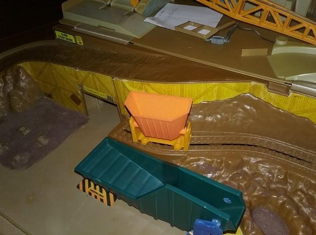 Hot Wheels Sto n Go Construction Site Cart in Orange Processed Versatile Plastic