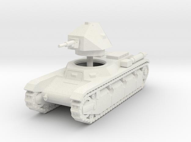 1/72 AMX 38 in White Natural Versatile Plastic