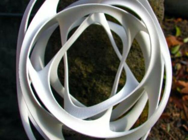 Sherk me II in White Natural Versatile Plastic