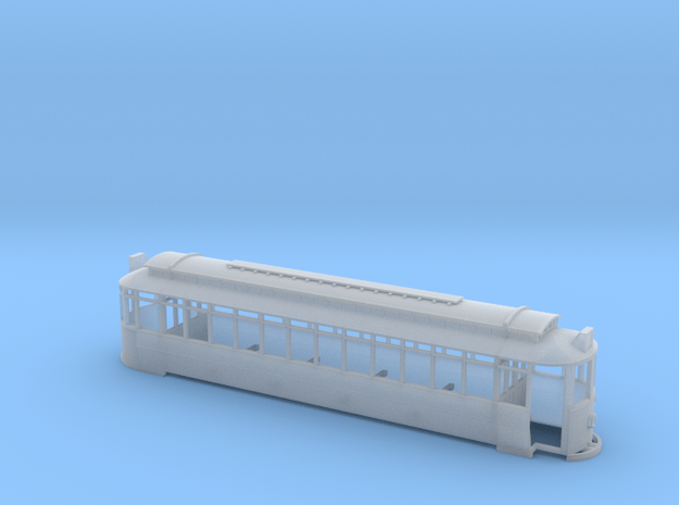 Blackpool Glasshouse Tram - 116&7 Retrucked - N ga