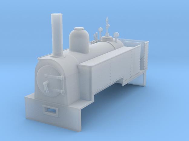 RAR Pelican loco in Smooth Fine Detail Plastic: 1:43.5
