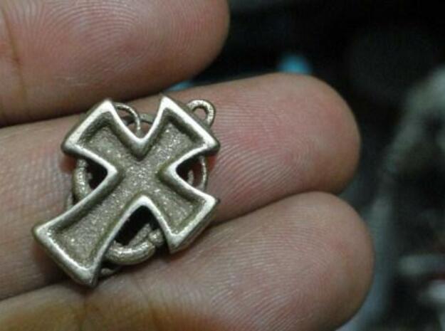 crusader7 in Polished Bronzed Silver Steel