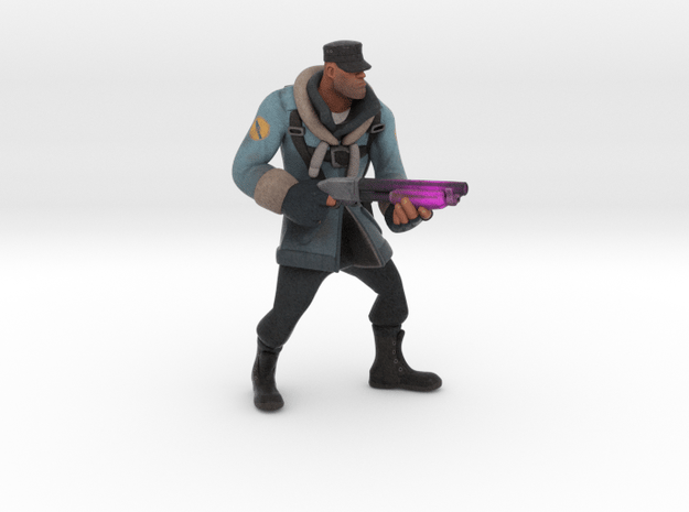 Soldier (custom request) in Full Color Sandstone
