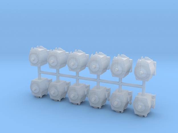 Motor für moderne E-Lok 12erSet - 1:120 TT in Smooth Fine Detail Plastic