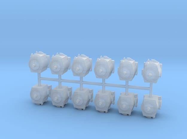 Motor für moderne E-Lok 12erSet - 1:87 H0 in Smooth Fine Detail Plastic