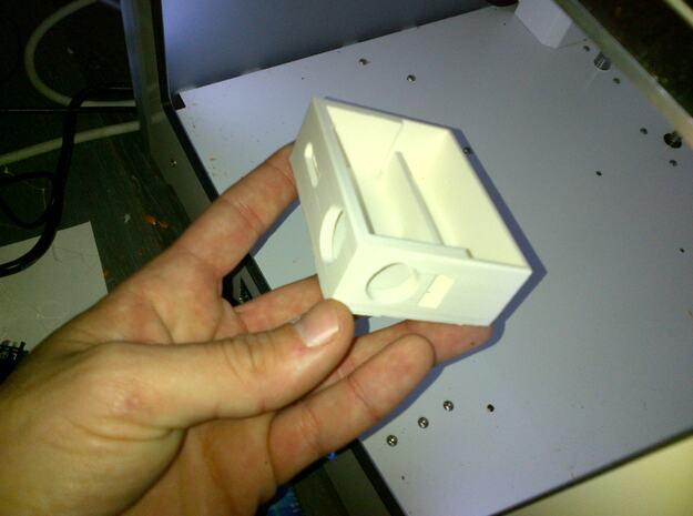 Box Mod MARK I -Bottom Feeder- for DNA 30 by Evolv in White Natural Versatile Plastic