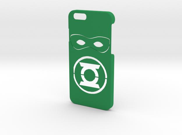 Green Lantern Phone Case-iPhone 6/6s in Green Processed Versatile Plastic