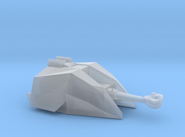 Klingon L-13 Fat Man battleship-class 1:3900 in Smooth Fine Detail Plastic