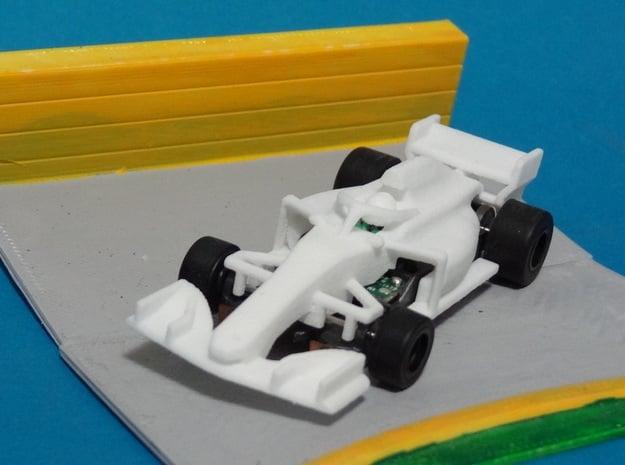 HO Formula 1 2018 in White Processed Versatile Plastic