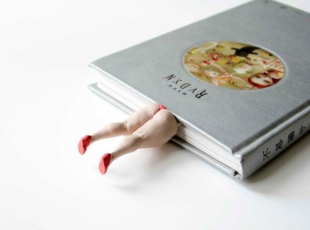 Funny Bookmark in White Natural Versatile Plastic