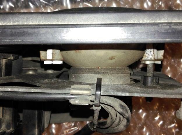 Lancia Delta 1 EVO Headlamp Clip HB SET2 in White Natural Versatile Plastic