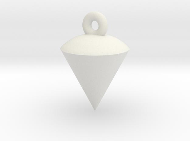 Plumb / Lot Earrings TEST in White Natural Versatile Plastic