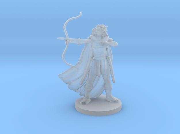 Dragonborn  Female  Ranger in Smooth Fine Detail Plastic