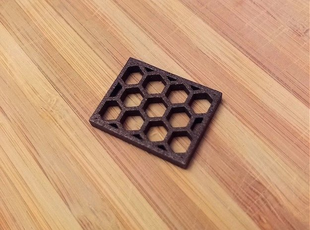 SRG Honeycomb Kill Flash in Matte Black Steel