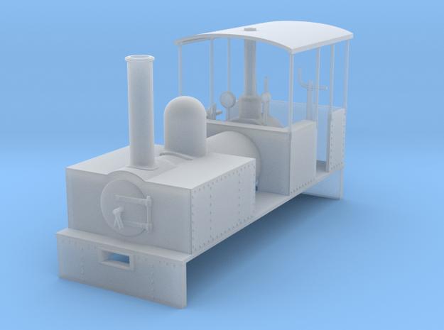 RAR Serapis loco in Smooth Fine Detail Plastic: 1:43.5