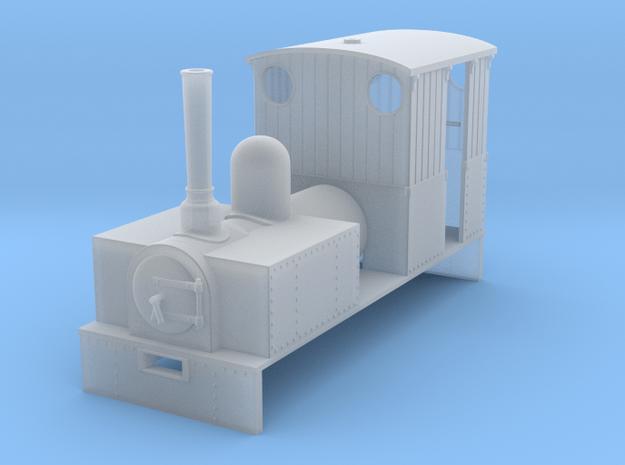RAR Osiris loco in Smooth Fine Detail Plastic: 1:43.5