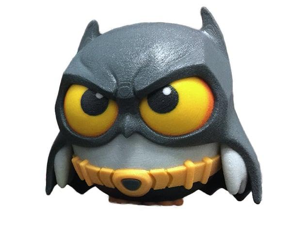 Bat Owl in Full Color Sandstone