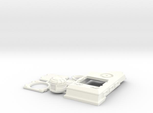 Rhino Law Enforcement Style (Repressor Variant) in White Processed Versatile Plastic