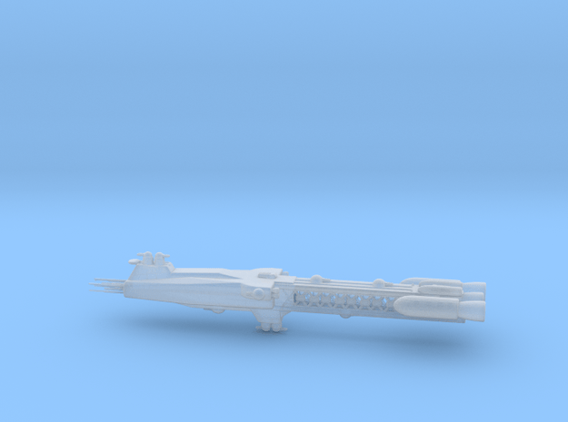 Earthforce Orpheus-Class Dreadnought 120mm in Smooth Fine Detail Plastic